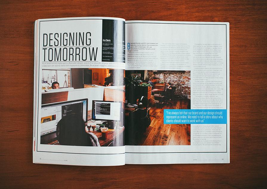 Designing Tomorrow Spread
